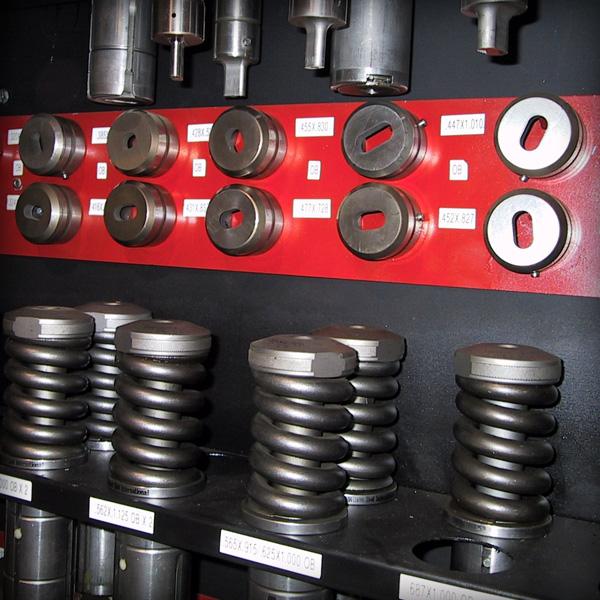 SilverStar Metal Fabricating Inc. - Punching
