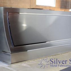 Silver Star Metal Fabricating Inc. -Custom Range Hood Left