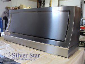 Silver Star Metal Fabricating Inc. -Custom Range Hood Right