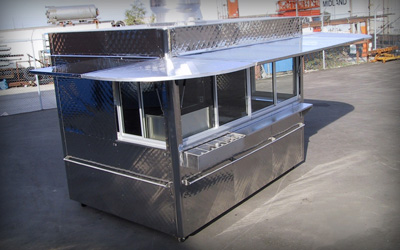 Silver Star Metal Fabricating Inc. - Food (Concession) Stands & Kiosks