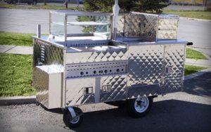 Silver Star Metal Fabricating Inc. - Vending Hot Dog Carts