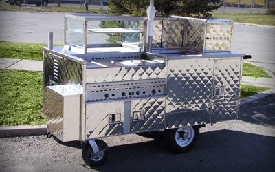 Silver Star Metal Fabricating Inc. - Vending Hot Dog Carts