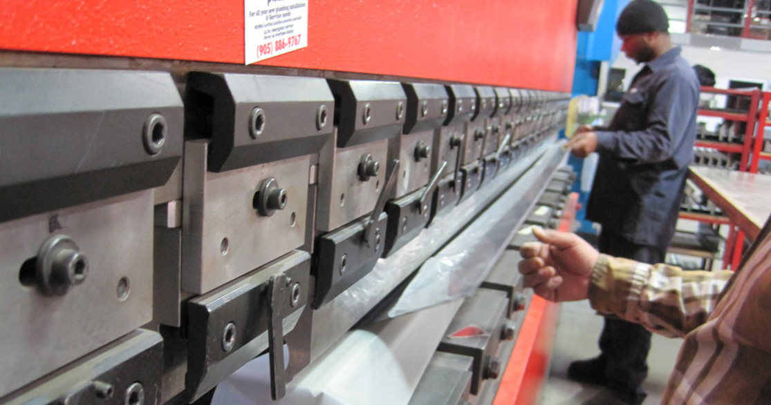 Silver Star Metal Fabricating Inc. - Press Brake Forming