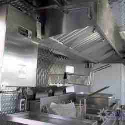 Silver Star Metal Fabricating Inc. - 2008 mobile kitchen trailer