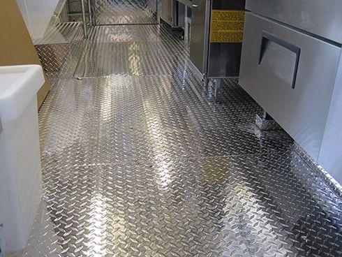 Silver Star Metal Fabricating Inc. - Aluminum Tread Plate Floor