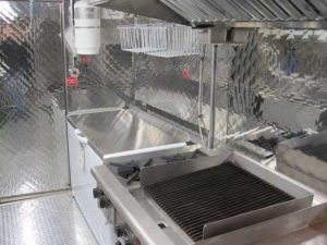 Silver Star Metal Fabricating Inc. - Food Truck Interior Freezer