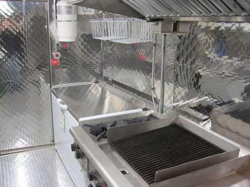 Silver Star Metal Fabricating Inc. - Food Truck Interior Freezer