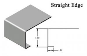 Silver Star Metal Fabricating Inc. - Stainless Steel Countertop Straight Edge