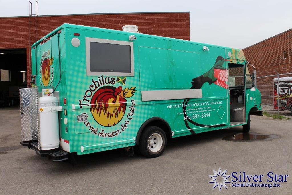 Food Trucks Trochilus Gourmet Jamaican Jerk Chicken Silver Star