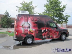 Silver Star Metal Fabricating Inc. – Food Trucks – Our Customers – Smirnoff (Red Door Party Promotion)