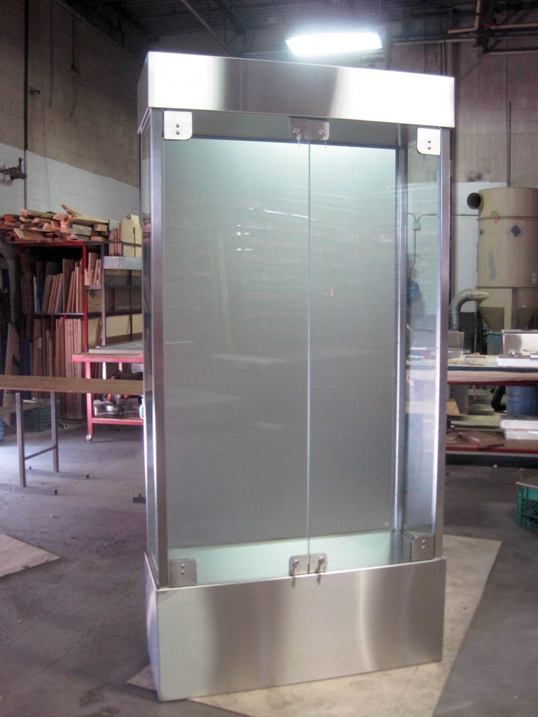 Silver Star Metal Fabricating Inc. – Stainless Steel Display Cabinet