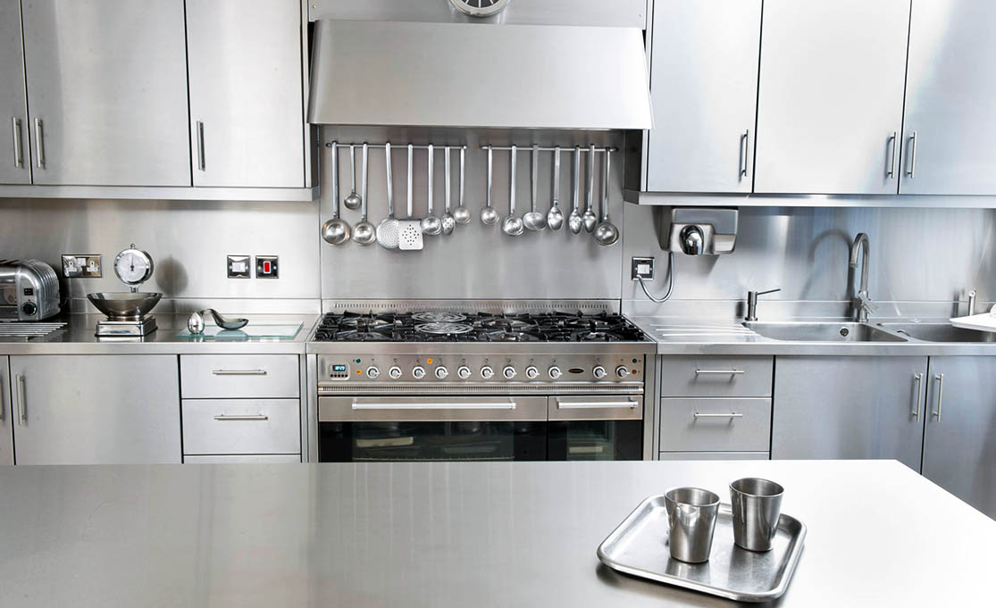 Silver Star Metal Fabricating Inc. – Stainless Steel Kitchen