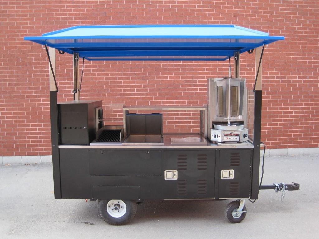 Custom Vending Carts Silver Star Metal Fabricating